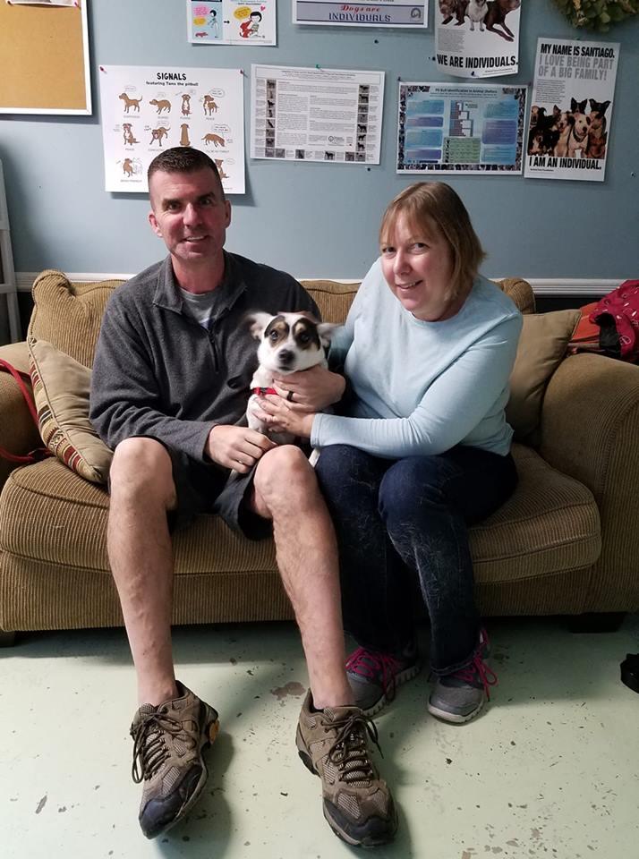 Smokey and his adoptive parents