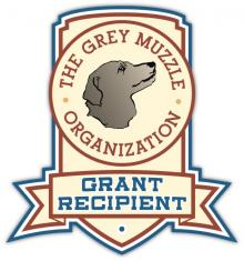Logo, The Grey Muzzle Organization Grant Recipient Badge